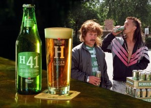 H41 - Will lager free itself of its cheap Schultenbräu image?