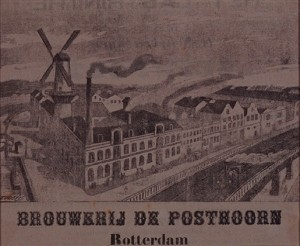 Brewery De Posthoorn - City Archives Rotterdam