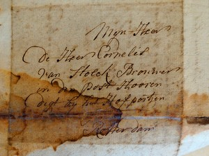 Letter White beer from Etten anno 1783 - City Archives Rotterdam