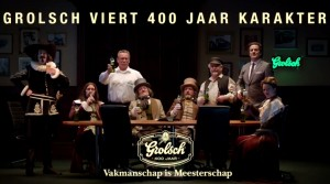 Grolsch: it may have '400 years of character', but their pilsener isn't even a century old.