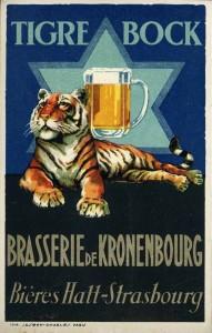 Tigre Bock - Kronenbourg - delcampe