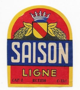 Saison: until the early 20th century Liège had its own variant. Source: Delcampe.net