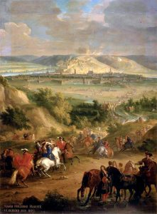 Siege of Namur in 1692. As long as there were soldiers, sales of beer went well.