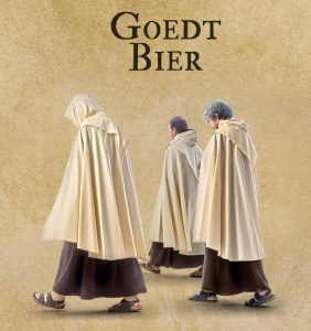 The 'Good Beer' of the Carmelites in Bruges, after the same historical recipe, was not allowed to be called 'Karmeliet'.