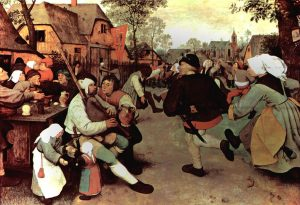 Brueghel's peasants: they drank beer, but not lambic. It didn't exist yet. Source: Kunsthistorisches Museum, Vienna.