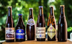 The trappists of Belgium: monumental beers, but from the 20th century. Source: Wikipedia, Philip Rowlands (edited)