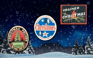 A short history of Belgian Christmas beer - Labels: jacquestrifin.be