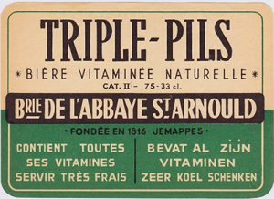 Triple-Pils: one of the weird Belgian variants of pils. Image: jacquestrifin.be