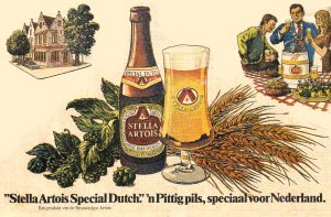 Stella Artois 'Special Dutch': a 'punchy' lager that wasn't that punchy.