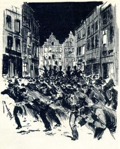Henri Meurnier - Strike in Brussels - Wikimedia Commons