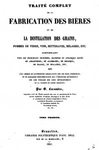 Title page of Lacambre's book from 1851.