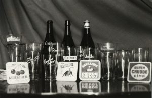 A selection of beers from Oudenaarde, including kriek, Liefmans and Roman. Source: erfgoedinzicht.be.