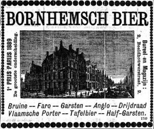 Advert by the Van Velsen brewery in Bornem, that produced a 'Flemish Porter' but also drijdraad. Handelsblad-28-3-1890.