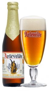Artevelde, a beer made by the Huyghe brewery in Melle, near Gent.