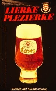 Publicity for the new version of Caves beer from the 1970s. Source: kempenserfgoed.be